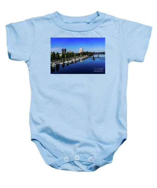 Augusta Ga Savannah River 2 Baby Onesie