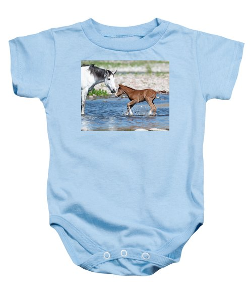 Baby's First River Trip Baby Onesie
