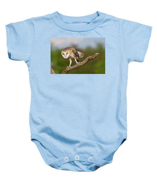 Barn Owl 5151801 Baby Onesie