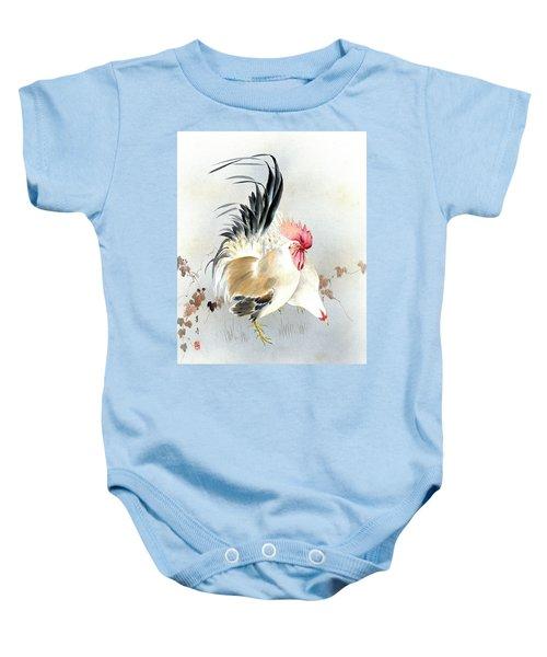 Barnyard Fowl Baby Onesie