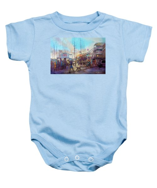 Beaufort Summer Color Baby Onesie