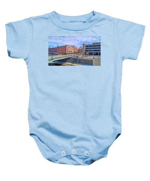 Binghamton Art Baby Onesie