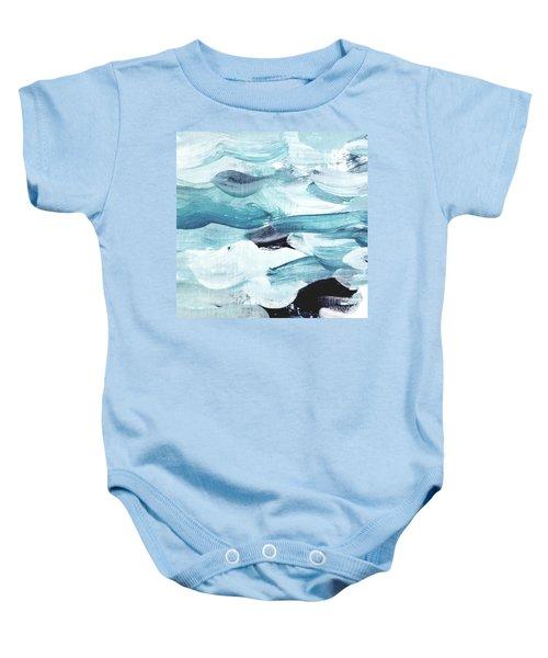 Blue #13 Baby Onesie