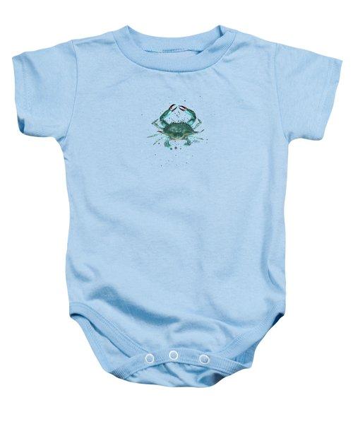 Blue Crab Baby Onesie