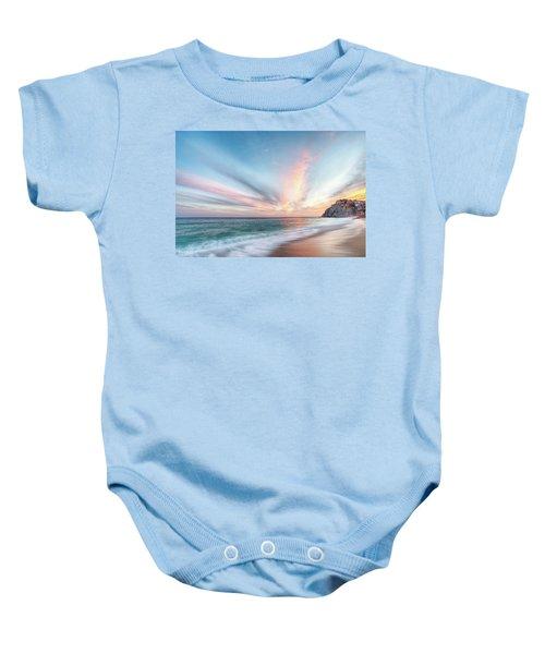 Cabo San Lucas Beach Sunset Mexico Baby Onesie