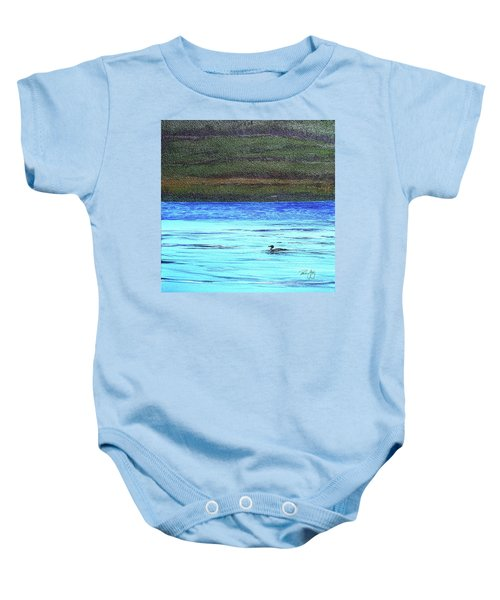 Call Of The Loon Baby Onesie