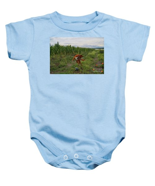 Canelo And The Watermelon Baby Onesie