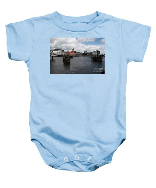 Cardiff Bay  Baby Onesie
