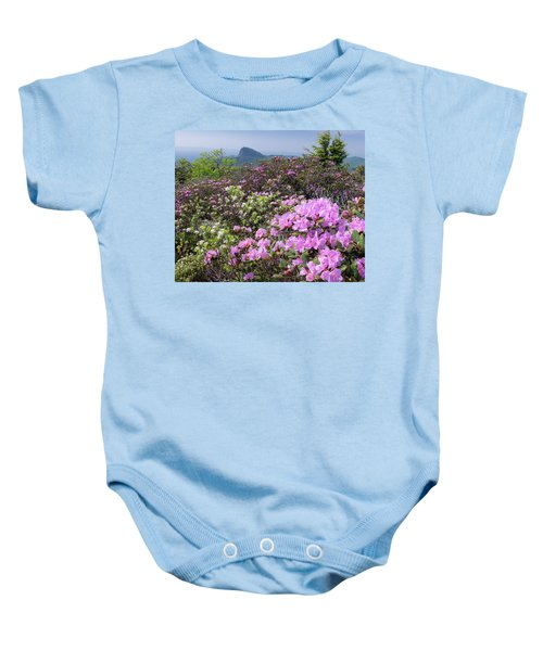 Catawba Rhododendron Table Rock  Baby Onesie