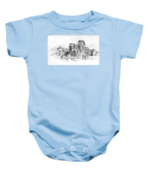 Cathedral Basilica Of St. Francis Of Assisi - Santa Fe, New Mexico Baby Onesie