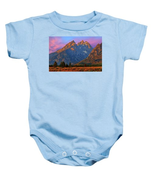 Cathedral Dawn Baby Onesie