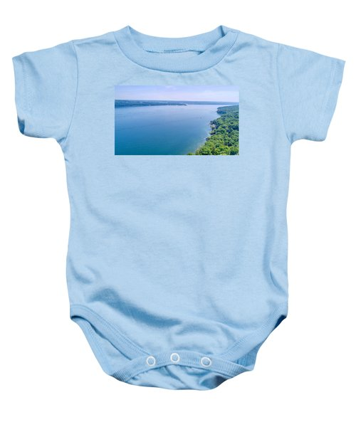Cayuga From Above Baby Onesie