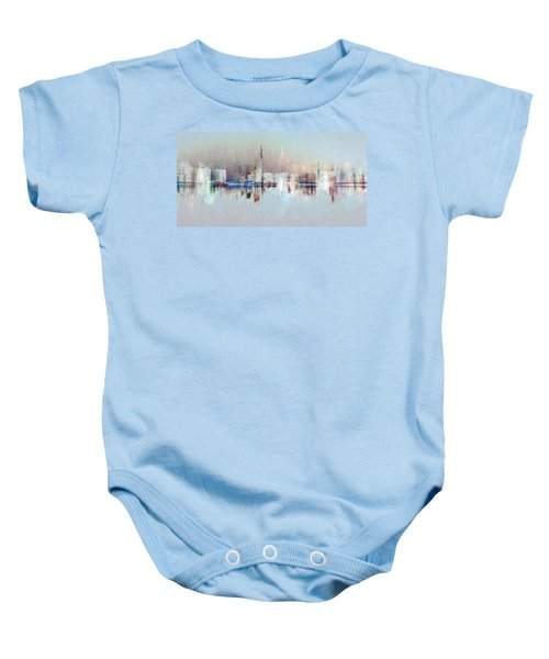 City Of Pastels Baby Onesie