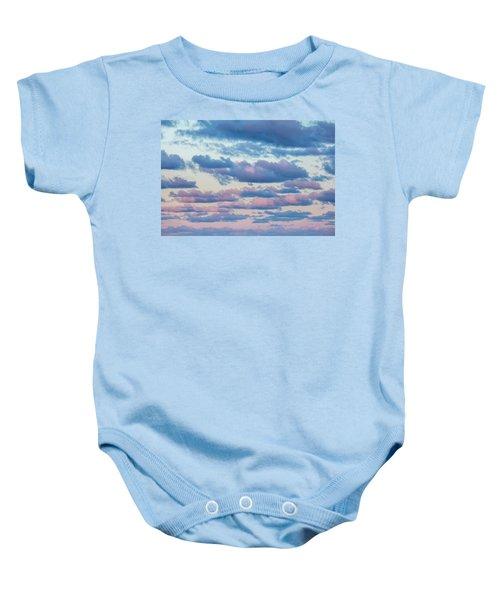 Clouds In The Sky Baby Onesie