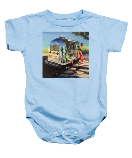Coffee In The Shade Baby Onesie