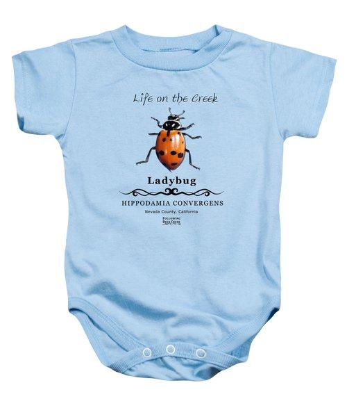 Convergens Ladybug Baby Onesie