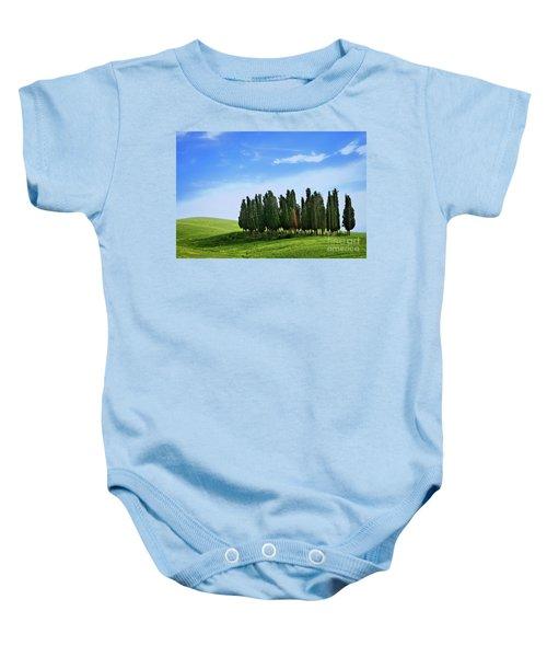 Cypress Stand Baby Onesie