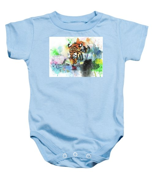 Dousing The Fire Baby Onesie