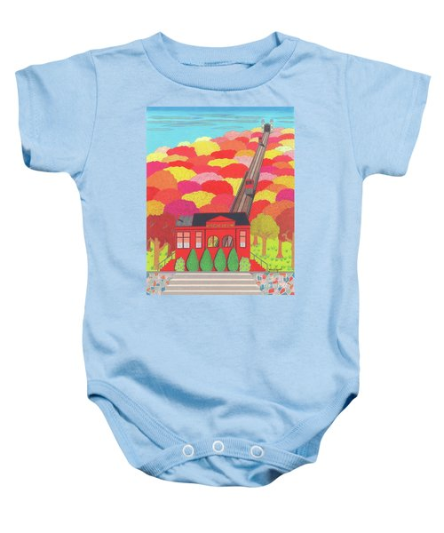 Duquesne Incline Baby Onesie