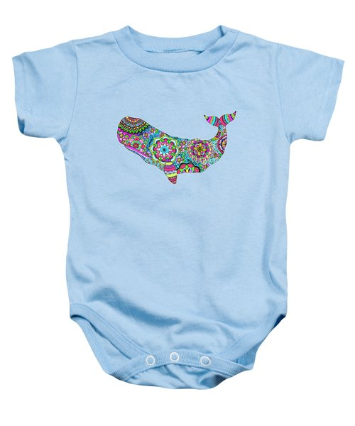 Electric Whale Baby Onesie