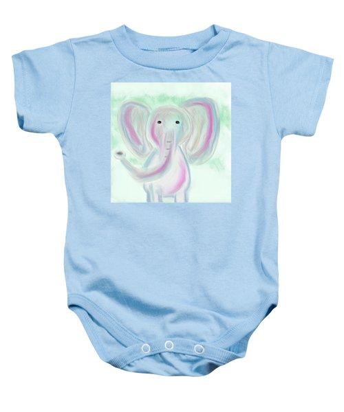 Elephant Love Baby Onesie
