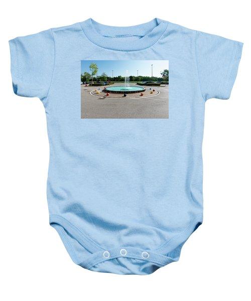 Euro New Topographics 18 Baby Onesie