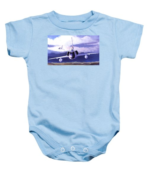 F-106a Head-on Baby Onesie