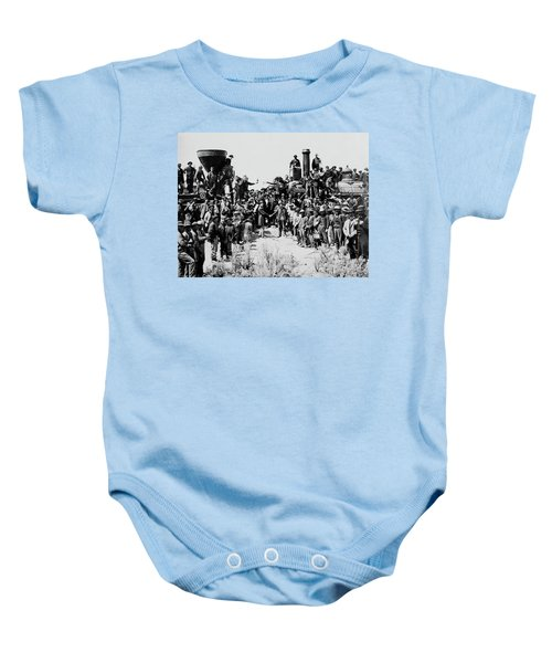 First Opening Of The Transcontinental Railroad - 1869 Baby Onesie