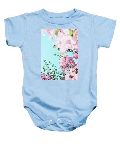 Floral Dreams I Baby Onesie