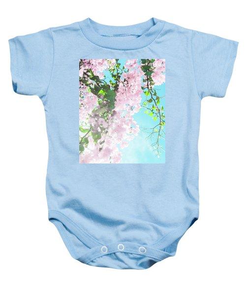 Floral Dreams IIi Baby Onesie