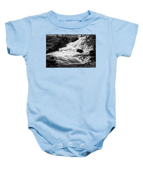 French Alps Stream Baby Onesie