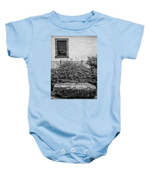 Friends Are Like Windows Through Which You See Out Into The World And Back Into Yourself Baby Onesie