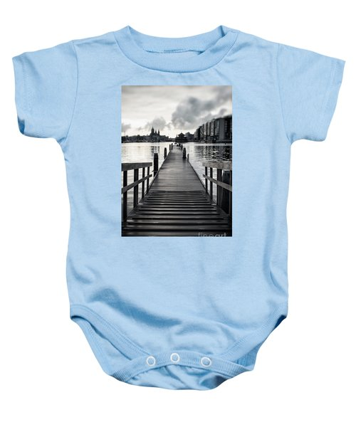 From The Solid Ground... Baby Onesie
