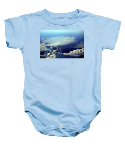 Glacier Pushes Out Baby Onesie