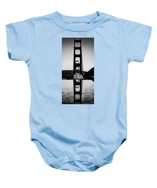 Golden Gate Reflection Baby Onesie