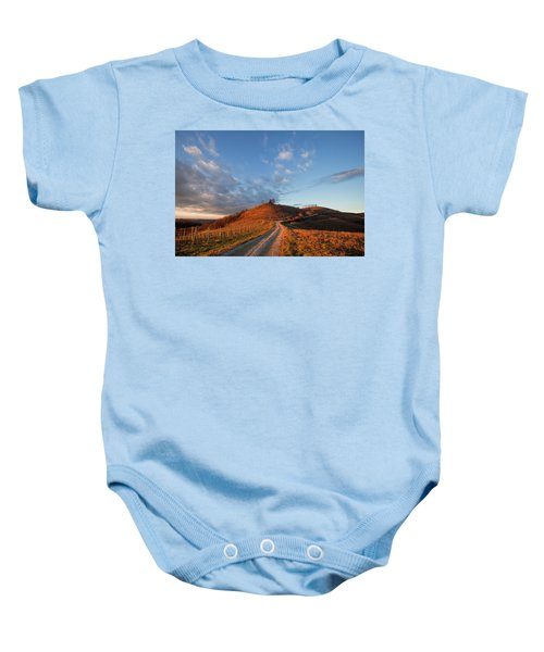 Golden Hill Baby Onesie