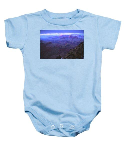 Grand Canyon Twilight Baby Onesie