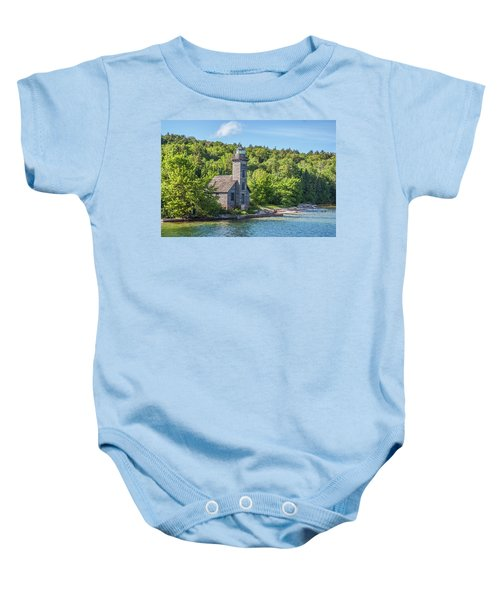 Grand Island East Channel Lighthouse, No. 2 Baby Onesie