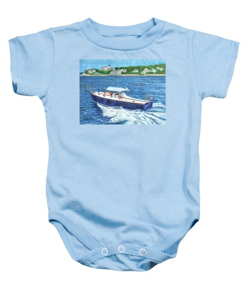 Great Ackpectations Nantucket Baby Onesie