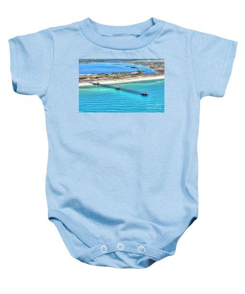 Gulf State Park Pier 7464p3 Baby Onesie