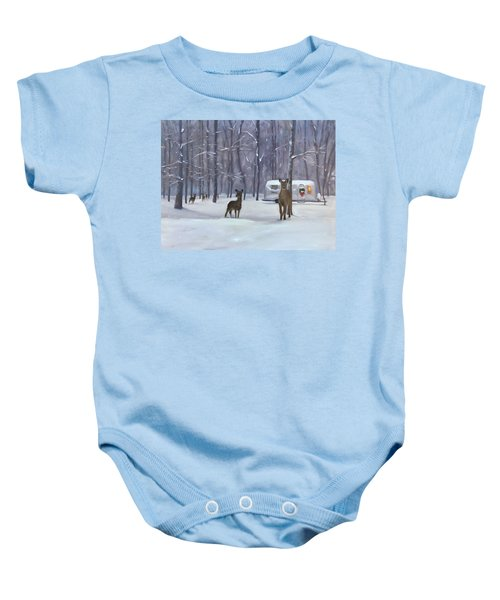 Have Yourself A Shiny Little Christmas Baby Onesie
