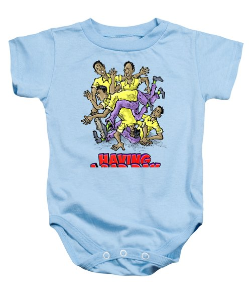 Having A Bad Day Baby Onesie