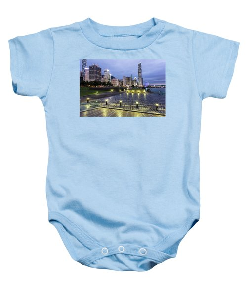 Hong Kong Twilight Baby Onesie