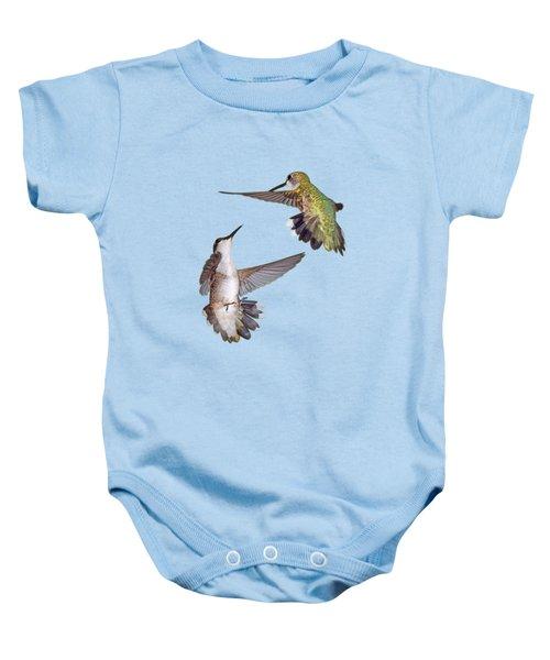 Hummingbirds - Defensive Dance Baby Onesie