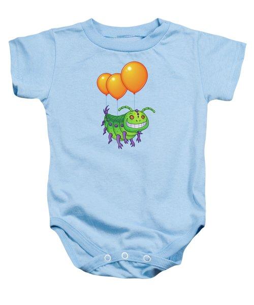 Impatient Caterpillar Baby Onesie