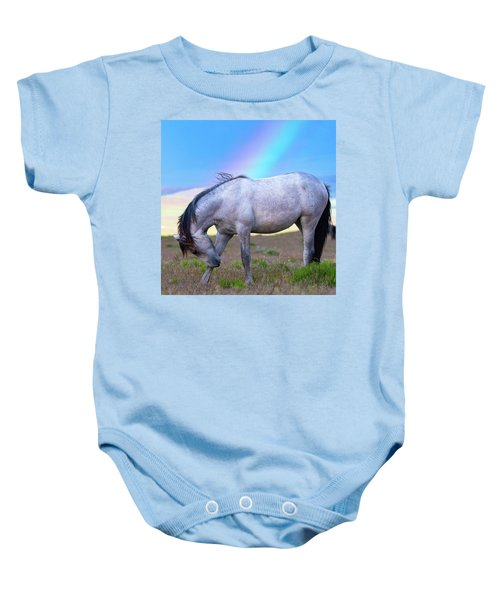 Baby Onesie featuring the photograph Irrefutable Proof by Mary Hone