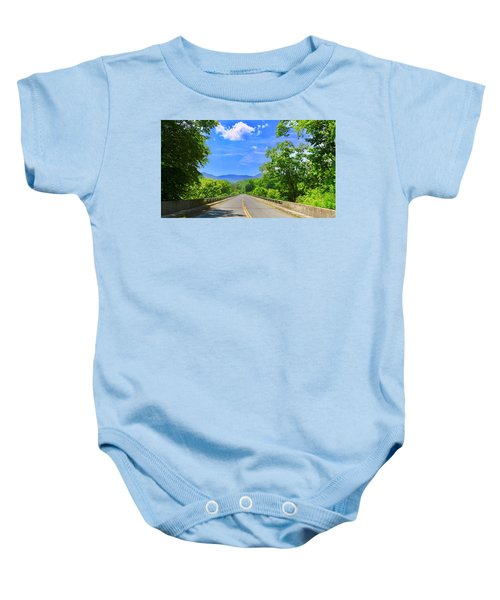 James River Bridge, Blue Ridge Parkway, Va. Baby Onesie