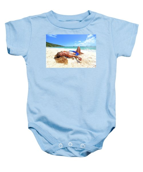 Lady Of The Leewards Baby Onesie