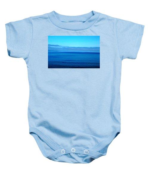 Lake Superior Blue Baby Onesie