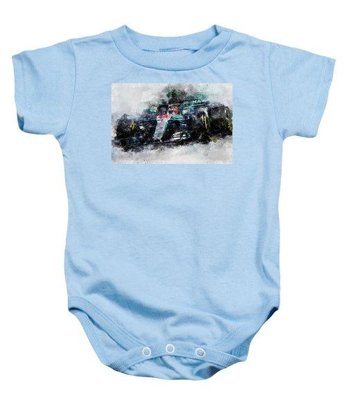 Lewis Hamilton, Mercedes Amg F1 W09 - 10 Baby Onesie